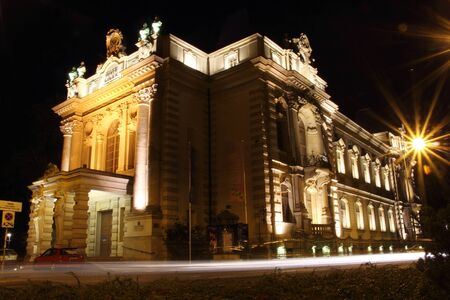 Puppet Theatre in Wroclaw at night, Poland Stock Photo - 15745337