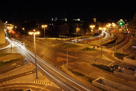 wroclaw: Wroclaw at night, Poland