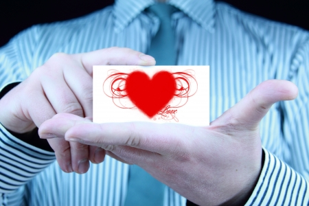 Heart, love - Valentines Day Gift Stock Photo - 17344646