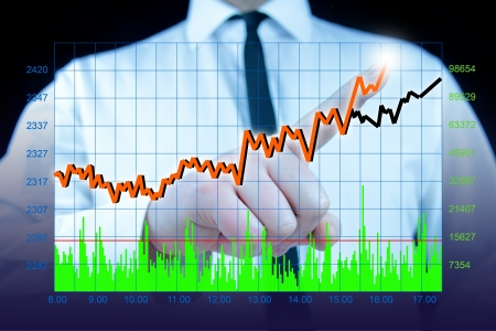 stock market photo