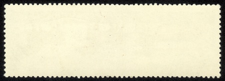 old blank postage stamp photo