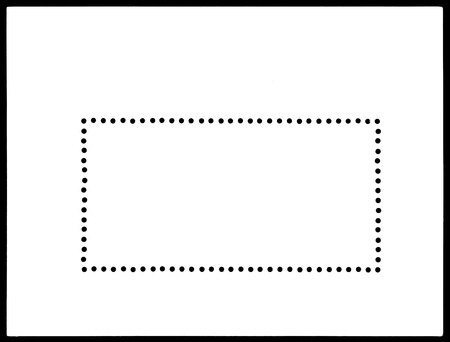 sello postal: sello postal en blanco