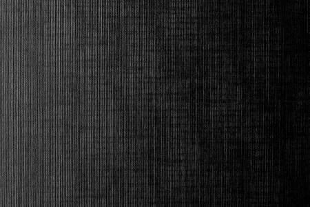 linen fabric: dark canvas texture background with delicate striped pattern Stock Photo
