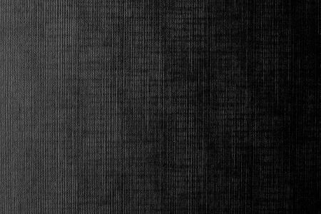 dark canvas texture background with delicate striped pattern Standard-Bild