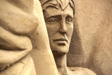 sand sculpture photo