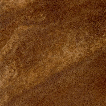 Brown leather texture closeup Stock Photo - 19919399