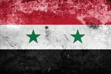 Grunge Syria flag  photo