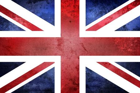 연합 왕국: 그런 영국 국기 스톡 사진