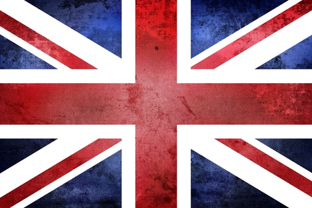 Grunge United Kingdom Flag photo