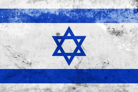 Grunge Israel Flag  photo