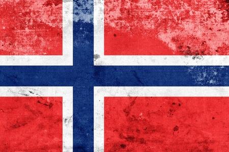 norway flag: Grunge Norway Flag