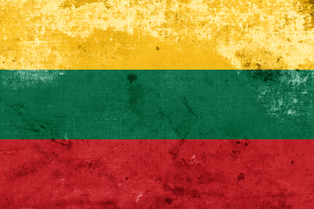 Grunge Lithuania Flag  photo