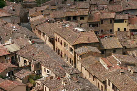 Roofs in Italy photo