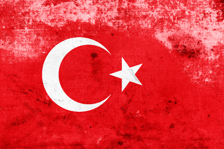 Grunge Turkey Flag photo