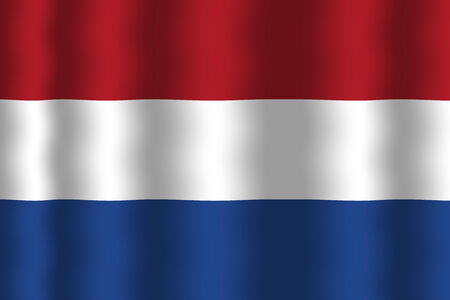 Waving Netherlands Flag photo