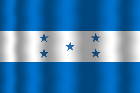 bandera de honduras: Waving Flag Honduras
