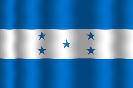 Waving Honduras Flag