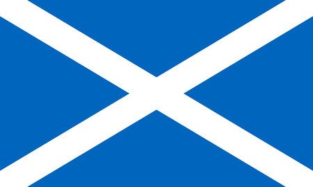 scottish flag: Scozia Bandiera Archivio Fotografico