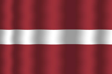 latvia flag: Waving Latvia Flag
