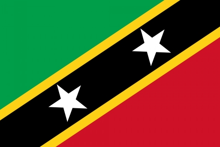 proportional: Saint Kitts and Nevis Flag