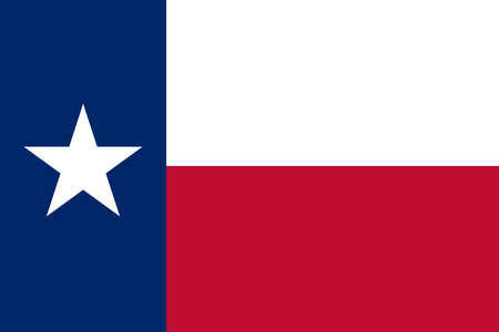 Texas State Flag Stock Photo