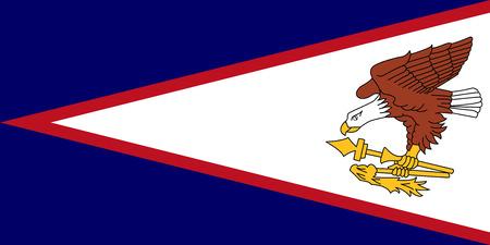 samoa: American Samoa Flag