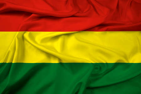 Waving Bolivia Flag photo