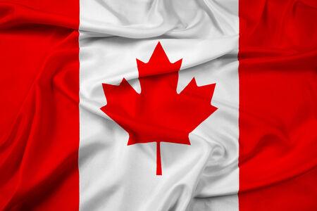 Waving Canada Flag photo