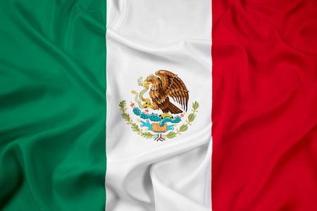 Waving Mexico Flag photo
