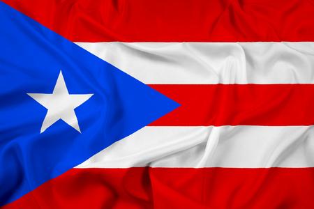 bandera de puerto rico: Waving Flag Puerto Rico