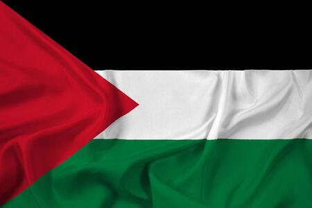 Waving Palestine Flag photo