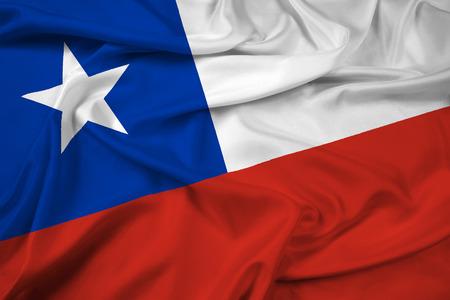 Zwaaien Chili Vlag