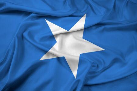 somalia: Waving Somalia Flag