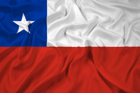 bandera de chile: Waving Flag Chile