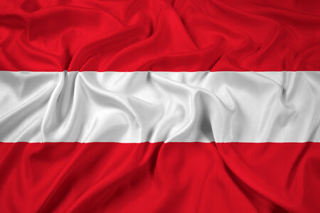 austria flag: Waving Flag Austria