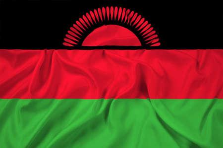 malawi flag: Waving Malawi Flag