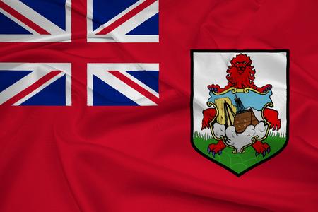 bermuda: Waving Bermuda Flag Stock Photo