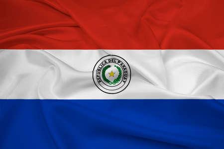 bandera de paraguay: Ondeando la bandera de Paraguay