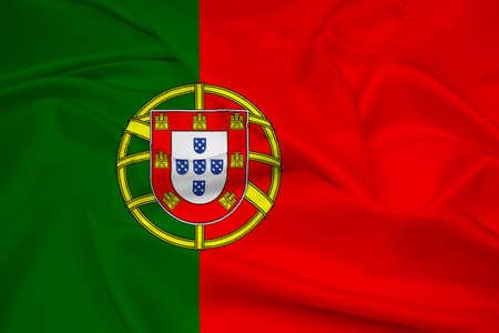 drapeau portugal: Waving Flag Portugal
