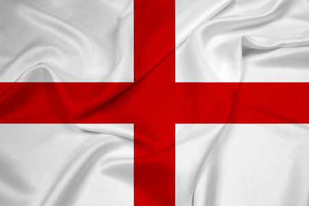 bandera inglaterra: Ondeando la bandera de Inglaterra