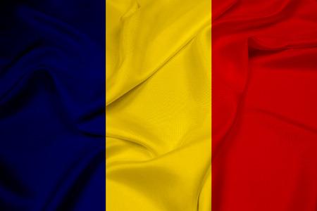 chad: Waving Chad Flag