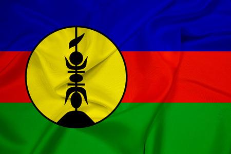 identidad cultural: Ondeando la bandera de Nueva Caledonia