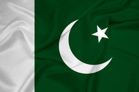 pakistan flag: Waving Pakistan Flag