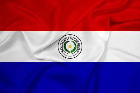 bandera de paraguay: Waving Flag Paraguay