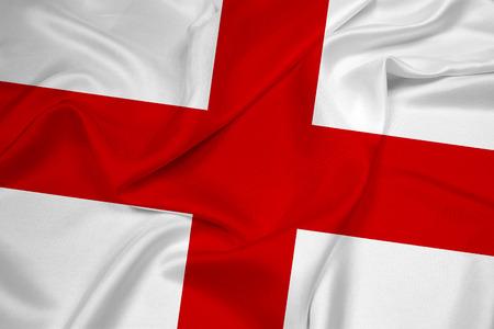 Waving England Flag photo