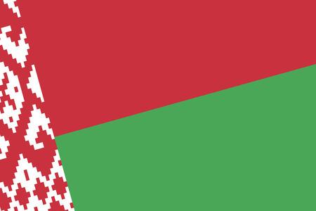 belarus: Belarus Flag. Close up. Stock Photo