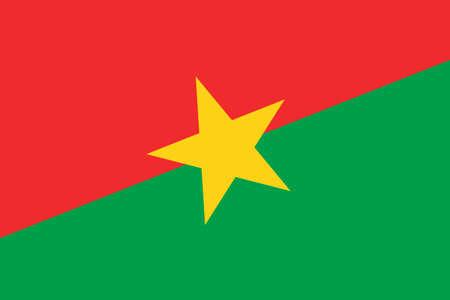 burkina faso: Burkina Faso Flag. Close up.