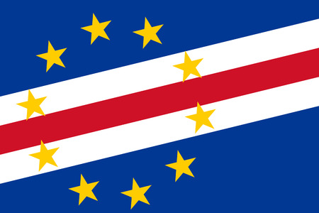 cape verde: Cape Verde Flag. Close up.