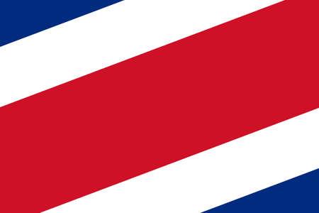 costa rica flag: Costa Rica Flag. Close up.