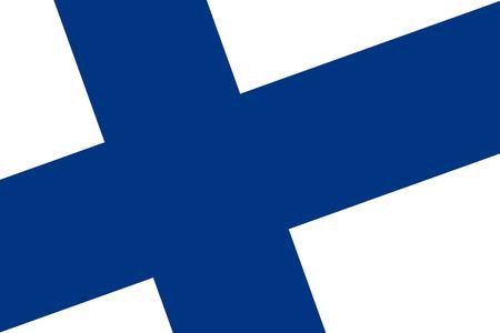 bandera de finlandia: Bandera de Finlandia. De cerca.